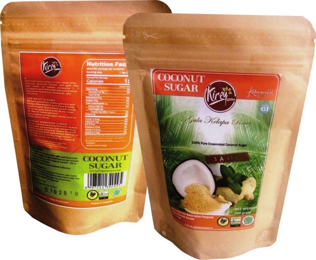 Coconut Sugar Ginger Flavor