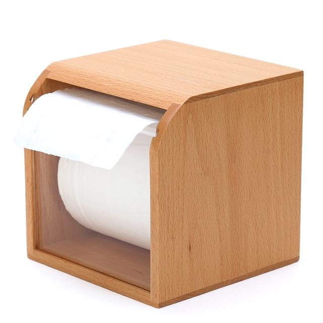 Bathroom Tissue Box Cover Made Of Mindi