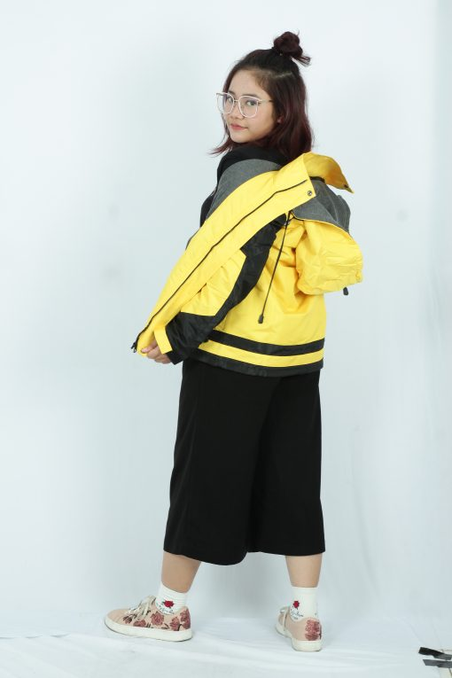 jaket parasut outdoor gunung cewek wanita Reflect Yellow Kuning